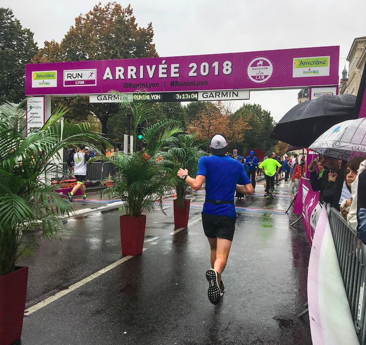 Ligne d'arrivée Run In Lyon