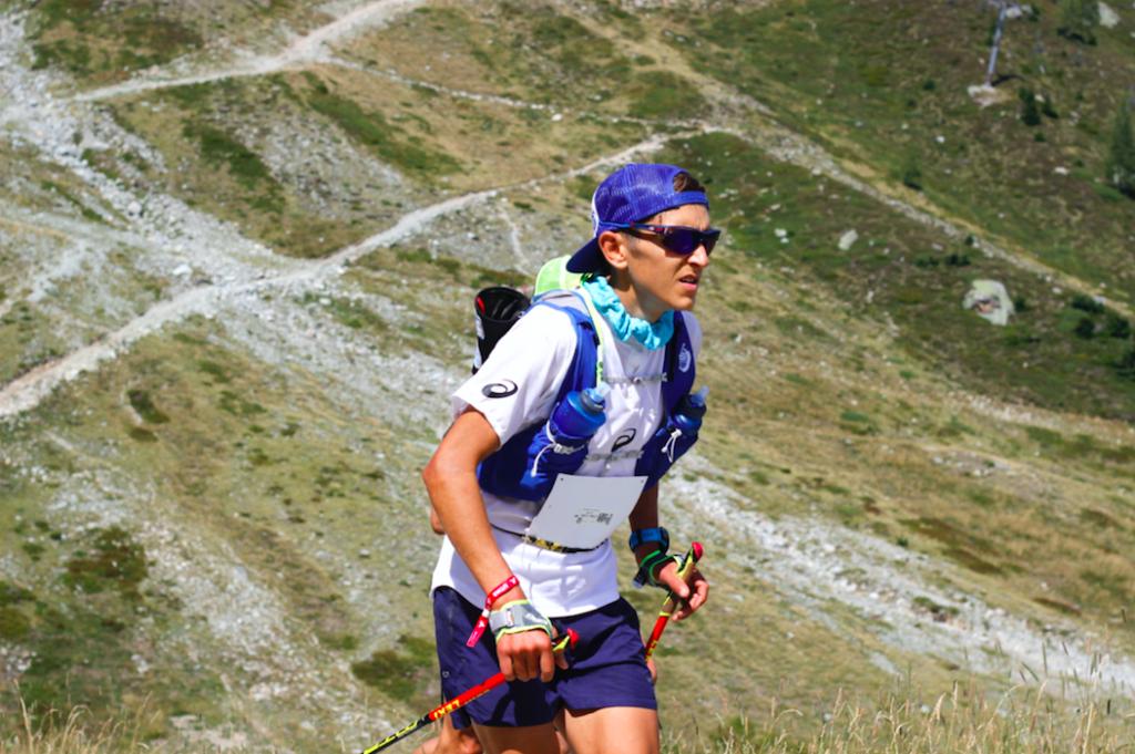 coureur sur Ultra-Trail du Mont-Blanc