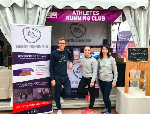 Stand Athletes Running Club sur le Run In Lyon