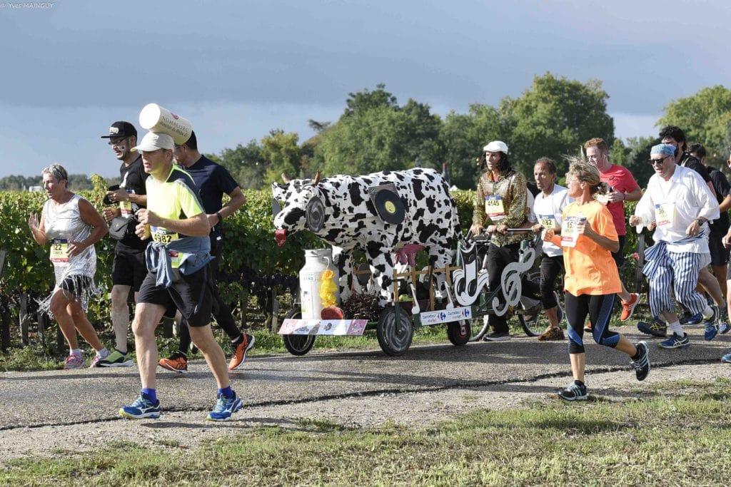 Marathon le plus festif en France - Marathon du Médoc