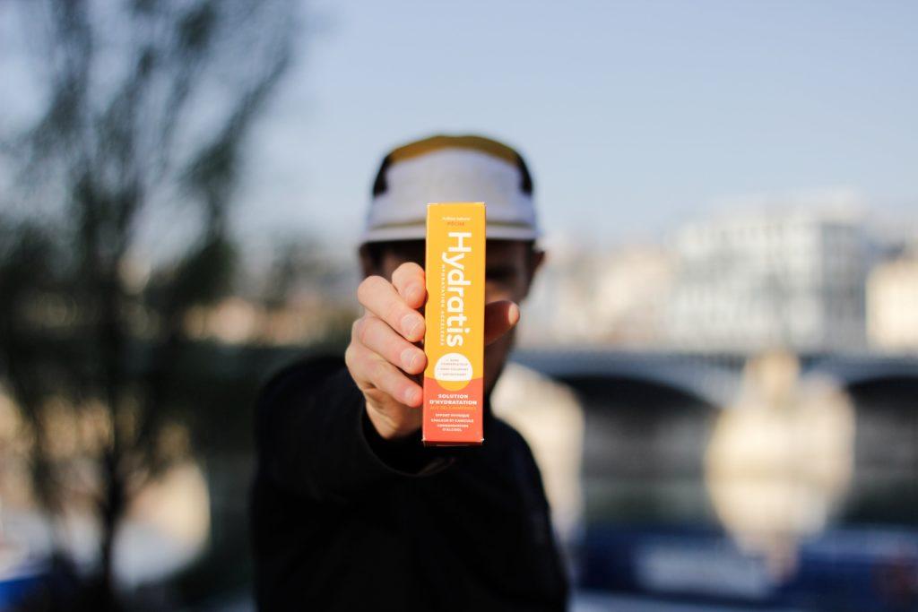 Pastilles d'hydratation pour le sport Hydratis