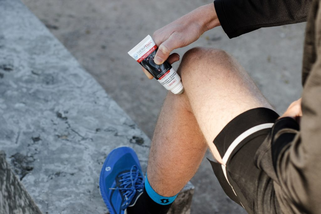 Gel Thermcool pour le running