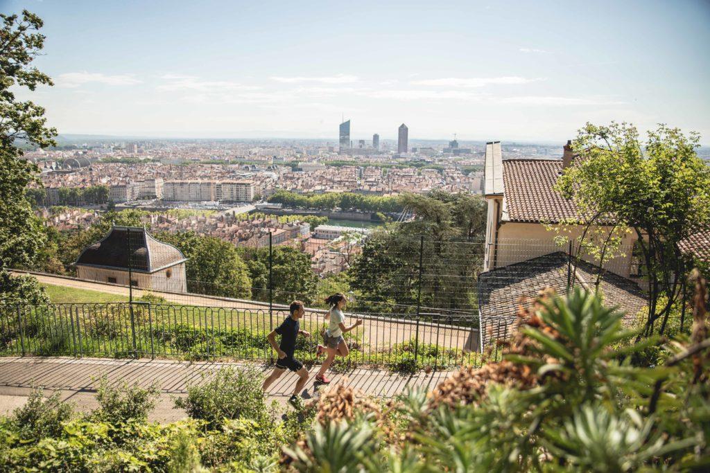 Entraînement running à Lyon