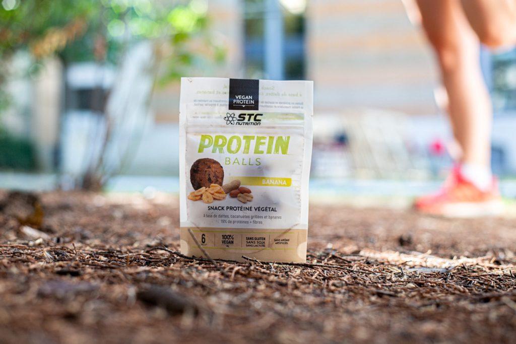 Sachets de Protein Balls pour le running