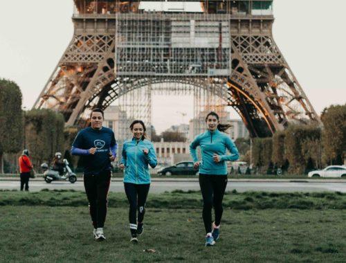 courir à Paris