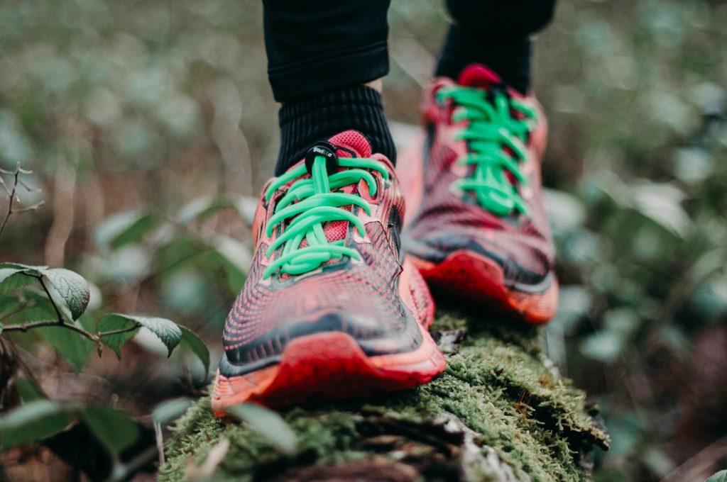 Lacets techniques course à pied