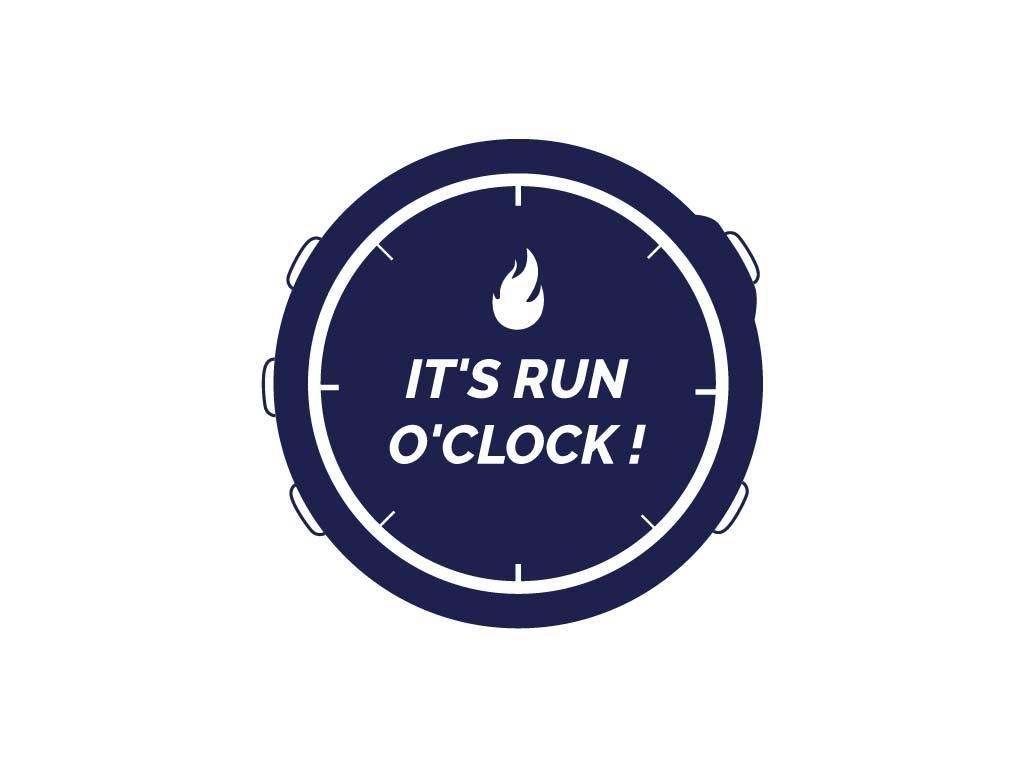 C'est l'heure de courir !