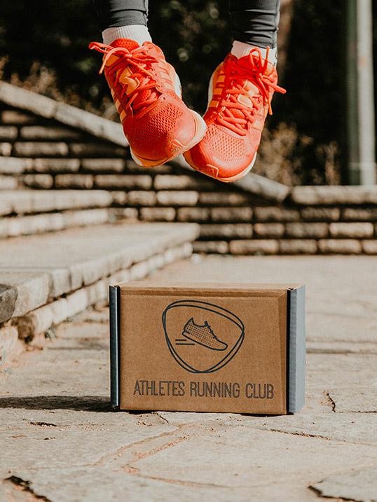 Box des coureurs Athletes Running Club