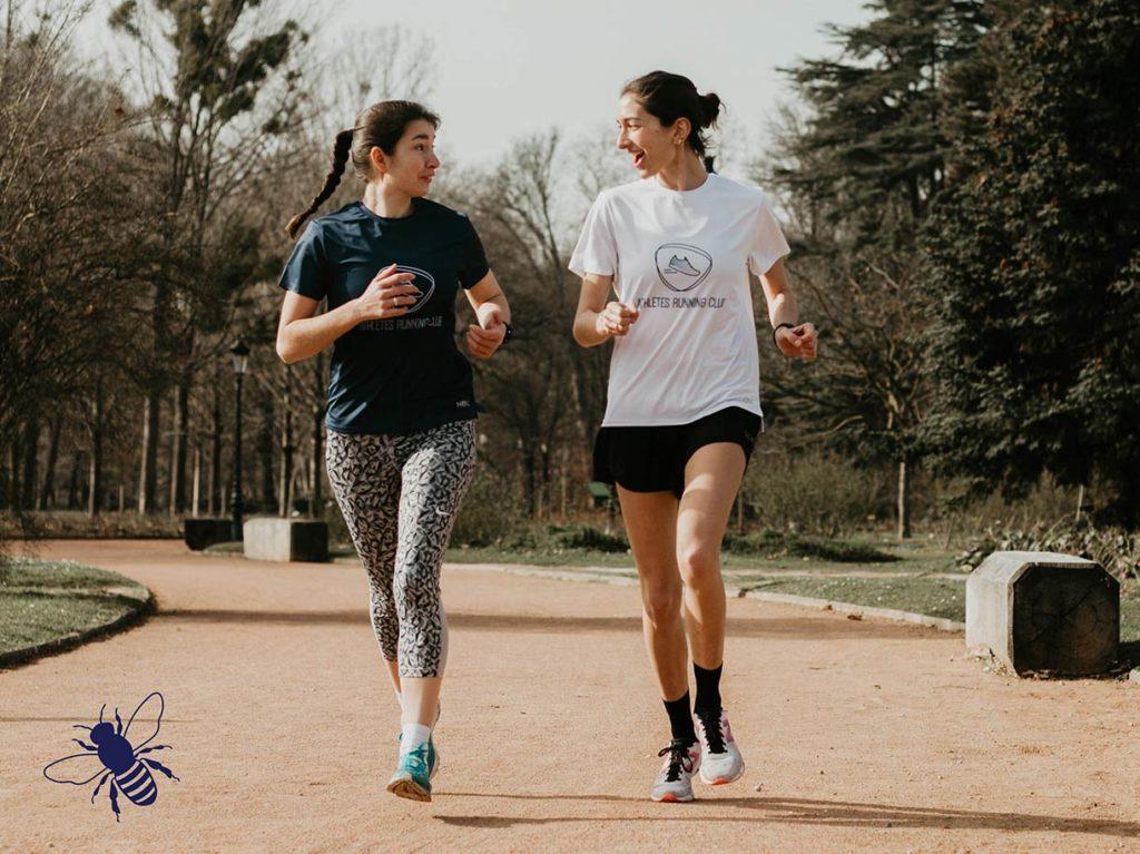 Courir au printemps en t-shirt !