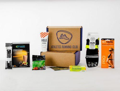 Produits de la box pour les runners Athletes Running Club