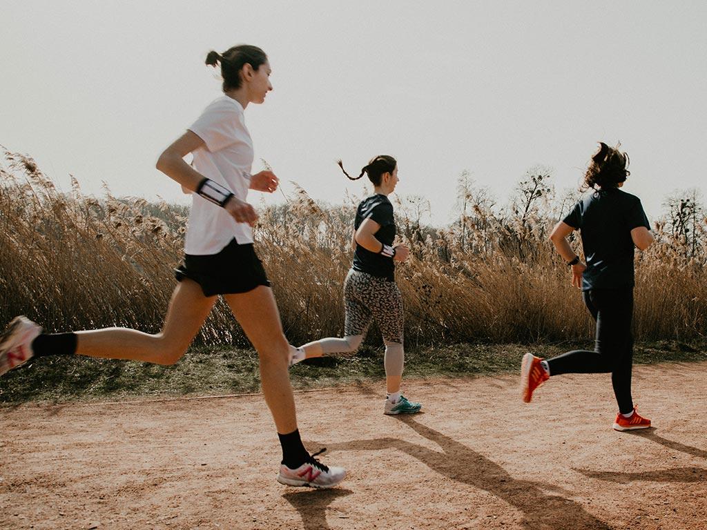 Progresser en vitesse en course à pied